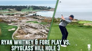 Download Ryan Whitney & the Fore Play Boys Take On Hole 3 At Spyglass Hill Video