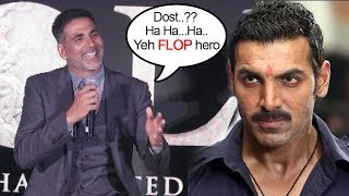 Download Akshay Kumar Makes FUN Of John Abraham's Comment On Gold Vs Satyamev Jayate Clash On 15th Aug 2018 Video