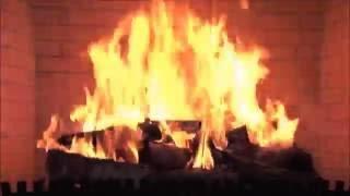 Download Kerstmuziek met een openhaard. Video