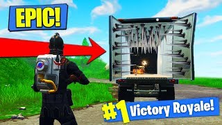 Download EPIC TRAP TRUCK STRATEGY In Fortnite Battle Royale! Video