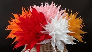 Download How to make beautiful paper flowers / DIY Valentine's day craft Video