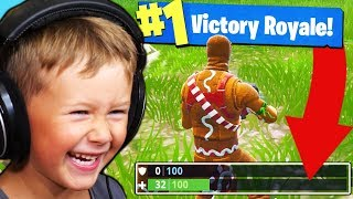 Download CAN A 5YR OLD WIN A GAME OF FORTNITE? Video