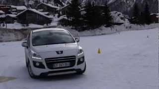 Download Peugeot Winter Experience PSA HYbrid4 in the snow Video