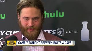 Download Game 7 tonight between Bolts and Caps Video