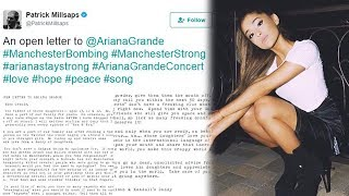 Download Father Pens Emotional Open Letter To Ariana Grande After Manchester Bombing Video