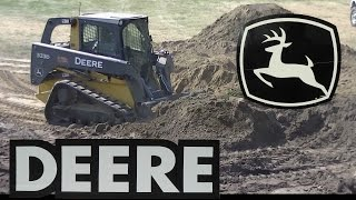 Download John Deere 323D Tracked Skid Steer Working Video