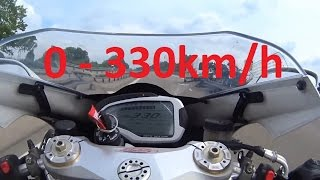 Download MV Agusta F4 RR - Acceleration 0-330km/h & Startup & Exhaust Sound & Dyno Video