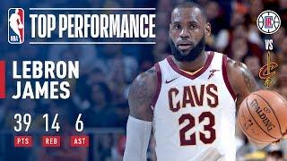 Download LeBron James Scores 39 in Overtime Win vs. Clippers   November 17, 2017 Video