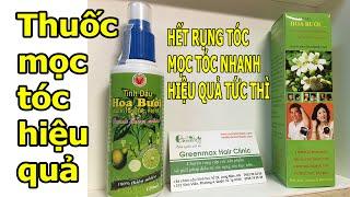 Download Thuốc mọc tóc chữa rụng tóc trị hói đầu tinh dầu bưởi - Greenmax Hair Clinic Video