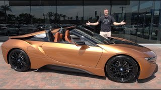 Download Here's Why the BMW i8 Roadster Is Worth $175,000 Video