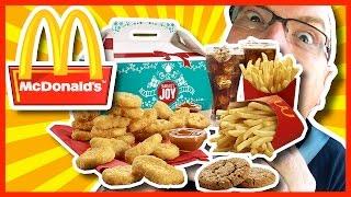 Download McDonald's Holiday Sharebox Challenge - 2430 CALORIES + 2480mg SODIUM Video