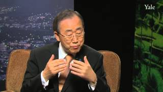 Download United Nations Secretary-General Ban Ki-moon: Syrian civil war, climate change, and food security Video