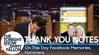 Download Thank You Notes: On This Day Facebook Memories, Hammers Video