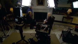 Download Lesley Stahl on what it's like to interview Trump Video