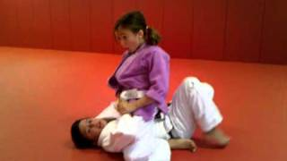Download Madeline and Luke sparring in Jiu Jitsu Video