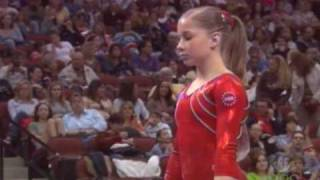 Download Shawn Johnson - Uneven Bars - 2007 Tyson American Cup Video