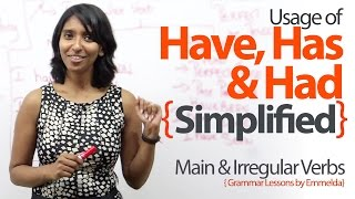 Download Using Have, Has & Had simplified – Basic English Grammar Lessons to learn Verbs & Tenses. Video