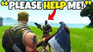 Download THE ″YOUNGEST″ FORTNITE PLAYER EVER!! (Helping Little Kid WIN in Fortnite) Video