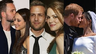 Download Suits ... and their real life partners Video