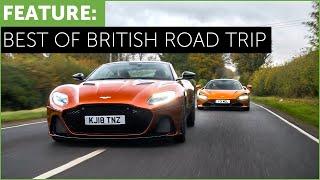 Download New Aston Martin DBS Superleggera vs Mclaren 720S - Best of British Road Trip Video