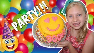 Download Emoji Cake, Tie Dye, Gel-a Peel - Alyssa's 300K Party Compilation Video