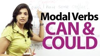 Download Modal verbs - Can and Could - English Grammar lesson Video