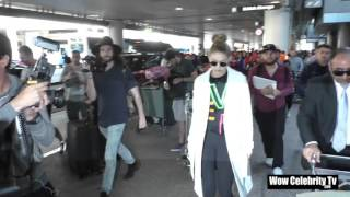 Download Gigi Hadid spotted at LAX Airport Video