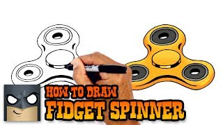 Download How to Draw Fidget Spinner | Drawing Tutorial Video