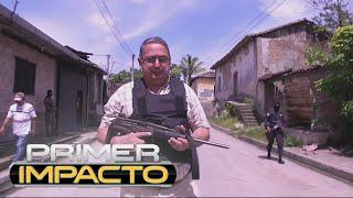 Download Alcalde en El Salvador sale a patrullar con ametralladora Video