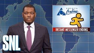 Download Weekend Update on AIM Shutting Down - SNL Video