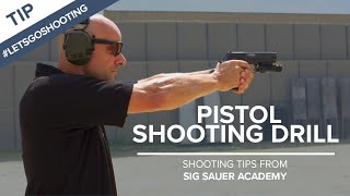 Download Pistol Shooting Drill to Improve Accuracy - Shooting Tips from SIG SAUER Academy Video