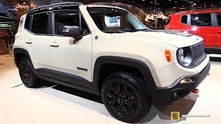 Download 2017 Jeep Renegade Trailhawk Deserthawk - Exterior and Interior Walkaround - 2017 Chicago Auto Show Video