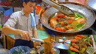Download How to make Casseroled Shrimp King Prawns Glass Noodle | Street Food Video