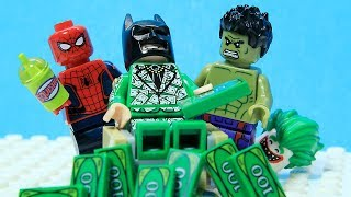 Download Lego Batman - Full of Money - Superheroes Real Life - Cartoon Animation Video