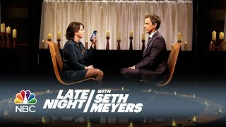 Download Rachel Dratch and Seth Clear the Air - Late Night with Seth Meyers Video