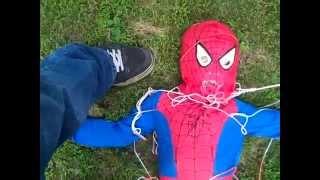 Download Avengers Assemble! Batman saves Iron Man, Spiderman, and Captain America!! (Plus Catwoman!) Video