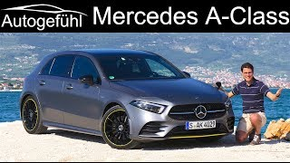 Download Mercedes A-Class FULL REVIEW all-new 2019 AClass A250 AMG Line A-Klasse - Autogefühl Video