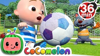 Download The Soccer (Football) Song + More Nursery Rhymes & Kids Songs - CoCoMelon Video