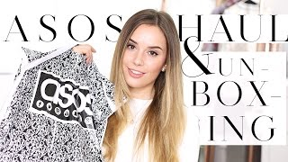 Download ASOS UNBOXING HAUL & TRY ON + TOPSHOP HAUL | Hello October Video