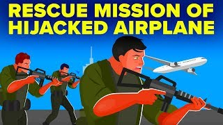 Download Crazy Rescue Mission of Hijacked Airplane - Operation Entebbe Video