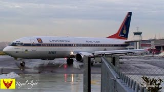 Download Royal Family of Thailand * HRH Crown Prince flying Boeing 737 himself Video