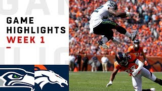 Download Seahawks vs. Broncos Week 1 Highlights | NFL 2018 Video