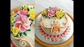 Download УКРАШЕНИЕ ТОРТОВ, Торт ″БРИДЖИТ″ от SWEET BEAUTY СЛАДКАЯ КРАСОТА, Cake Decoration Video