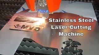 Download 500W Fiber Laser Cutting Machine for Metal Sheet - Stainless Steel Laser Cutting Machine -Brand MVD Video