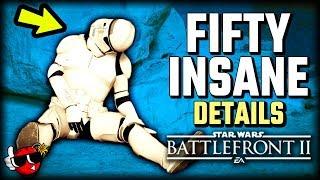 Download 50 INSANE DETAILS in Capital Supremacy - Star Wars Battlefront 2 Video