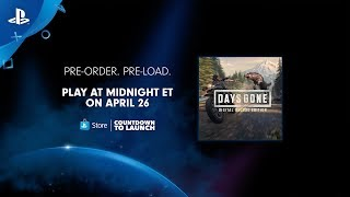 Download Days Gone - Countdown to Launch   PlayStation Store Video