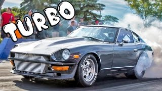 Download Datsun 240z TURBO - V8 Powered STREET Machine! Video