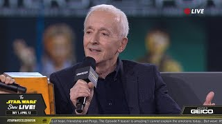 Download Anthony Daniels Takes The Stage At SWCC 2019 | The Star Wars Show Live! Video