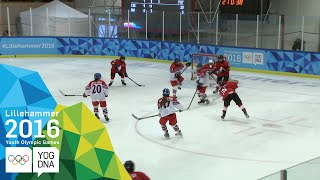 Download Ice Hockey - Women's Semi-Final - CZE vs SUI | Lillehammer 2016 Youth Olympic Games Video