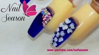 Download Uñas de acrilico punta coffin usando tip cuadrado Video